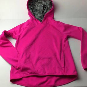 Avia Pink Quilted Front Hoodie